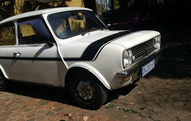 1978 Leyland Mini GTS in White with black stripe - original condition south africa (1).jpg