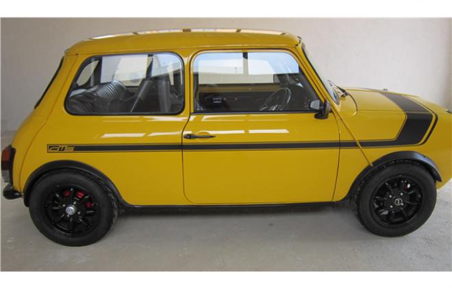1978 Leyland Mini GTS yellow black stripe (4).png