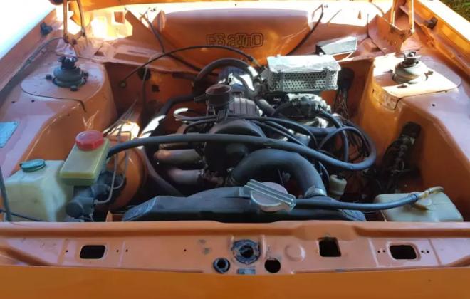 1979 Ford Escort MK2 RS2000 Sedan Burnt orange Australia 2018 (3).png