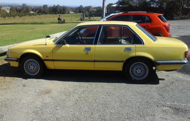 1979 Holden Commodore VB SL-E Yellow paint images (1).jpg