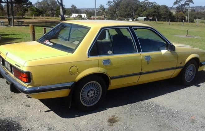 1979 Holden Commodore VB SL-E Yellow paint images (3).jpg