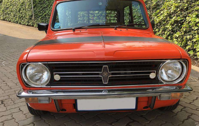 1979 Leyland Mini GTS front Grille.png