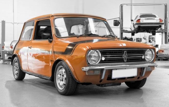 1979 Leyland Mini GTS orange.png