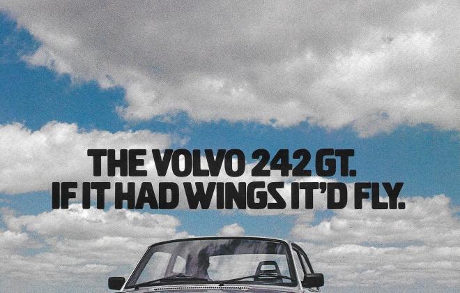 1979 Volvo 242 GT advertisement with jet Australian brpchure (1).png