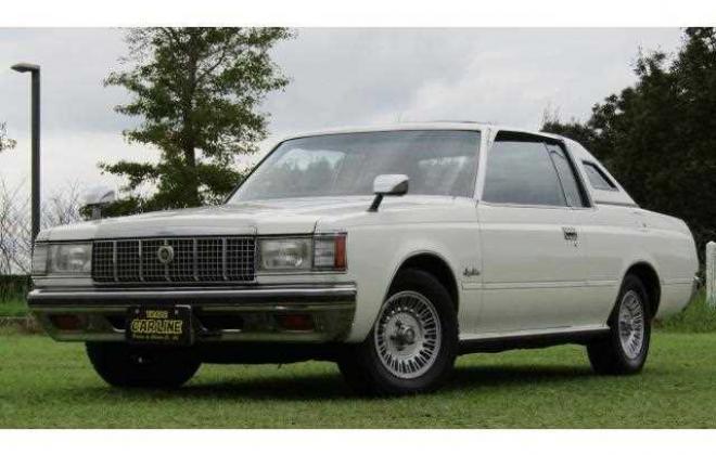 1980 Toyota Crown 2 door coupe hardtop white Japan JDM images S110 (8).jpg