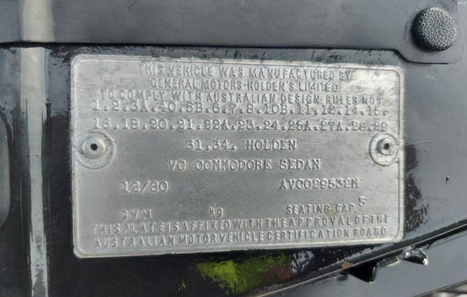 1980 VC Holden Commodore HDT Tuxedo Black V8 manual (21).jpg