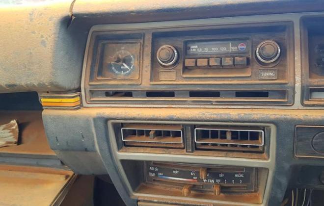 1981 Datsun Stanza SSS sedan red on black 2021 parts car wreck (5).jpg