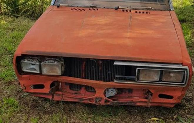 1981 Datsun Stanza SSS sedan red on black 2021 parts car wreck (6).jpg