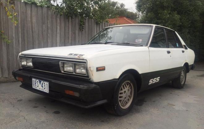 1982 Datsun Stanza SSS Sedan white (1).jpg
