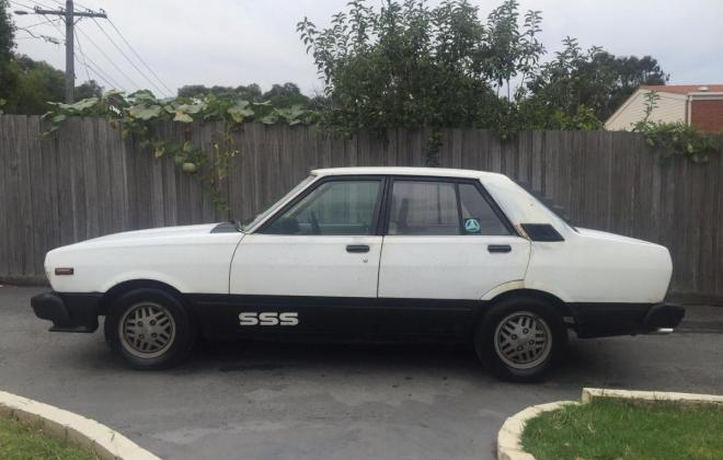 1982 Datsun Stanza SSS Sedan white (2).jpg