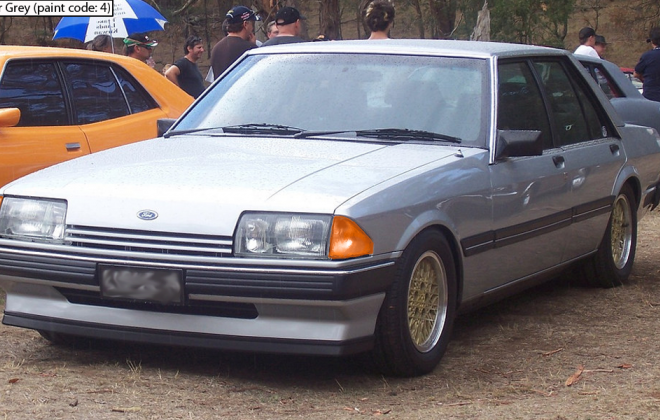 1982 Ford Fairmont XE ESP Silver Grey - paint code 4.png