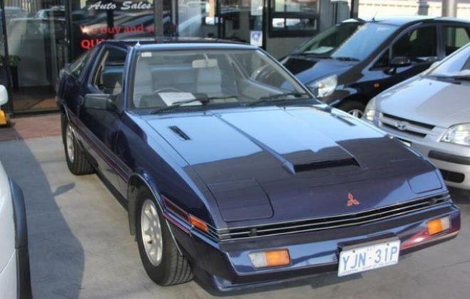 1982 Mitsubishi Starion GSR Turbo purple blue images  (1).JPG