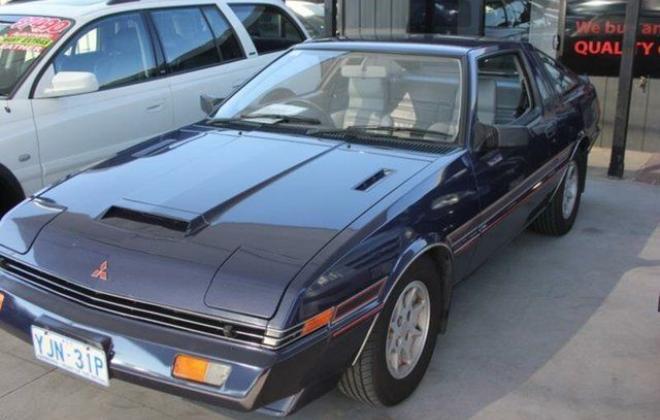 1982 Mitsubishi Starion GSR Turbo purple blue images  (2).JPG