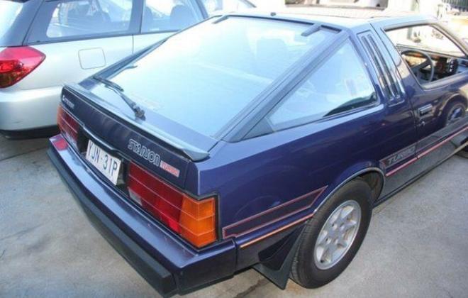 1982 Mitsubishi Starion GSR Turbo purple blue images  (5).JPG