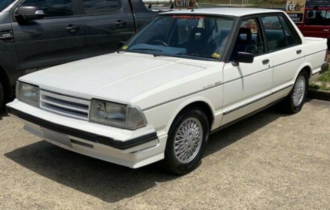 1982 Nissan Bluebird TR-X White Australia (1).jpg