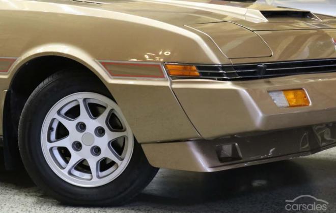 1983 Mitsubishi Starion JA turbo Australia gold (1).jpg