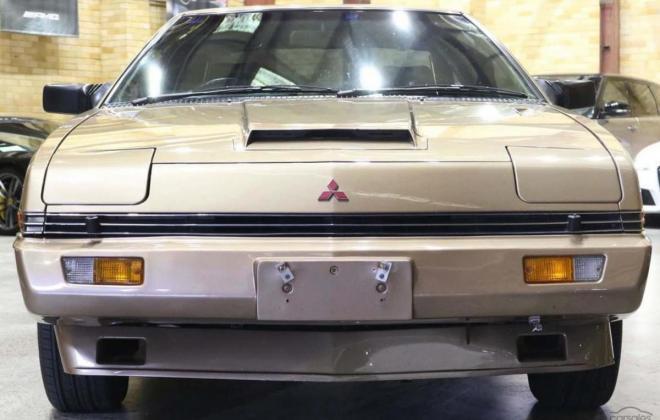 1983 Mitsubishi Starion JA turbo Australia gold (14).jpg