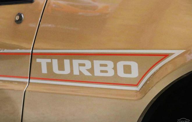 1983 Mitsubishi Starion JA turbo Australia gold (15).jpg