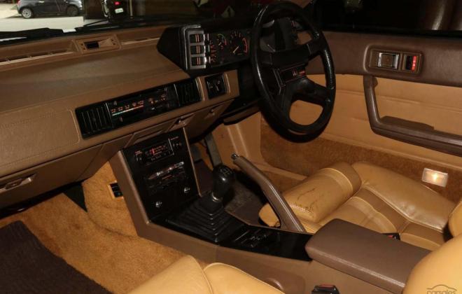 1983 Mitsubishi Starion JA turbo Australia gold (16).jpg