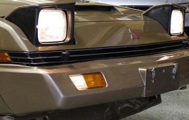 1983 Mitsubishi Starion JA turbo Australia gold (18).jpg