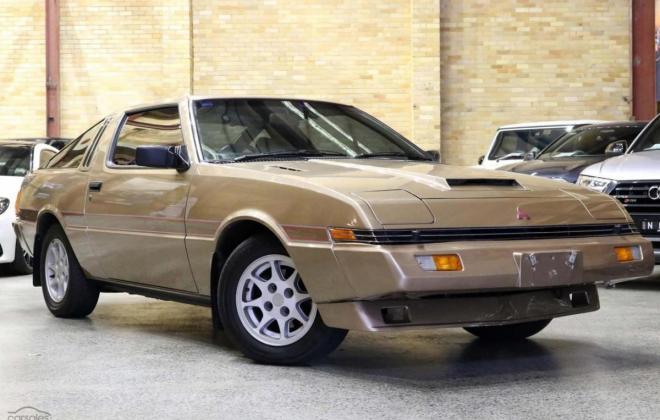 1983 Mitsubishi Starion JA turbo Australia gold (2).jpg
