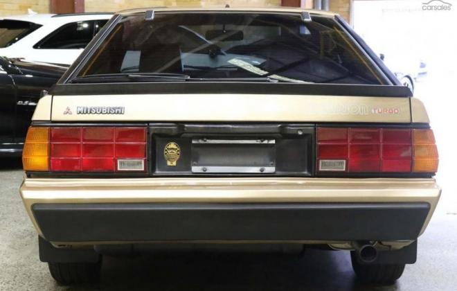 1983 Mitsubishi Starion JA turbo Australia gold (4).jpg