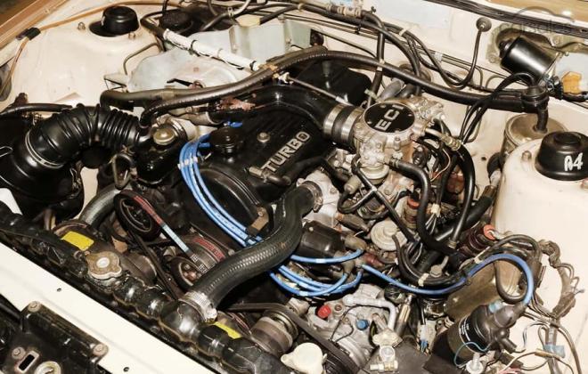 1983 Mitsubishi Starion JA turbo Australia gold (7).jpg