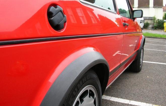 1983 Volkswagen Golf GTI MK1 Campaign Edition UK Mars Red.JPG