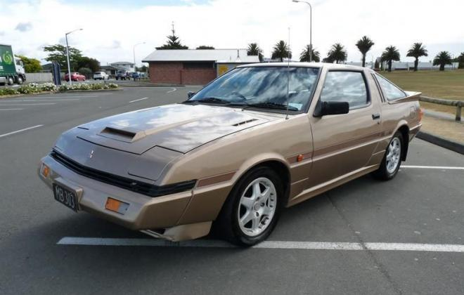 1984 Mitsubishi Starion GSR Turbo Coupe Gold images (6).jpg