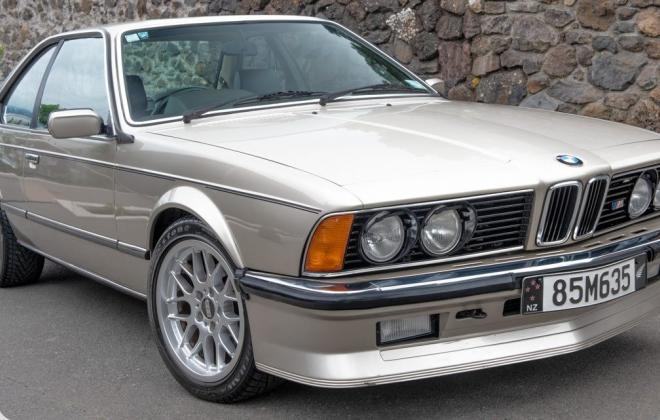 1985 M635 M6 coupe E24 shark gold images (4).jpg