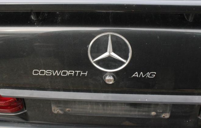 1985 Mercedes Benz 190E 2.3 AMG Cosworth Australia sedan black images 2021 (12).jpg