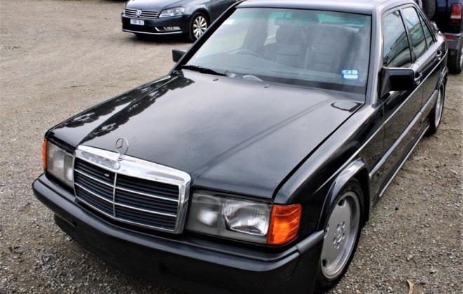1985 Mercedes Benz 190E 2.3 AMG Cosworth Australia sedan black images 2021 (15).jpg