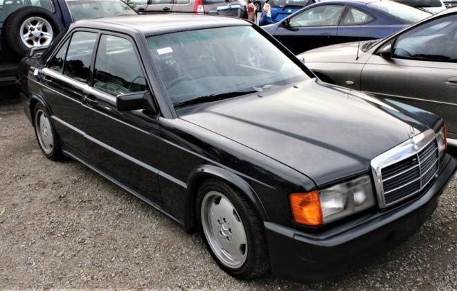 1985 Mercedes Benz 190E 2.3 AMG Cosworth Australia sedan black images 2021 (2).jpg