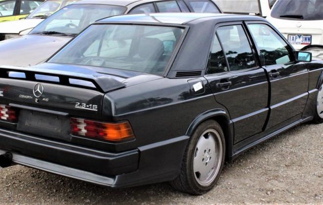 1985 Mercedes Benz 190E 2.3 AMG Cosworth Australia sedan black images 2021 (3).jpg