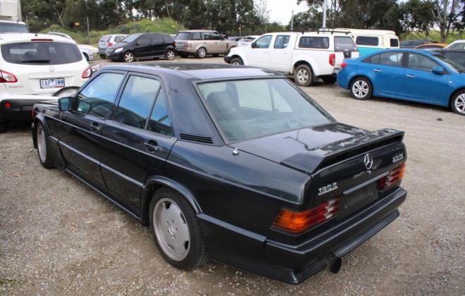 1985 Mercedes Benz 190E 2.3 AMG Cosworth Australia sedan black images 2021 (4).jpg