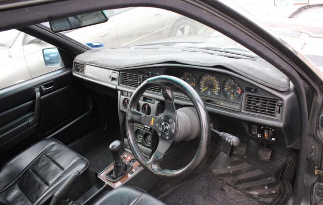 1985 Mercedes Benz 190E 2.3 AMG Cosworth Australia sedan black images 2021 (8).jpg