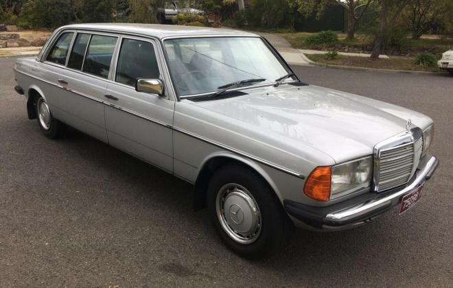 1985 Mercedes W123 250 Long Wheel Base factory limousine images Australia (1).jpg