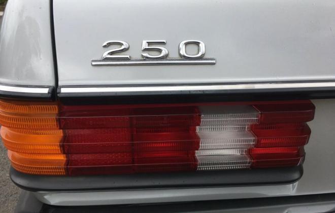 1985 Mercedes W123 250 Long Wheel Base factory limousine images Australia (2).jpg