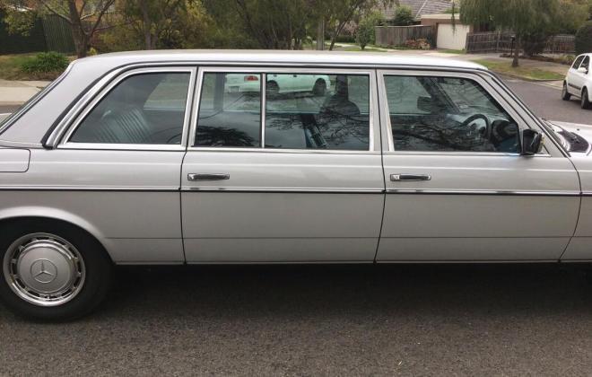1985 Mercedes W123 250 Long Wheel Base factory limousine images Australia (9).jpg