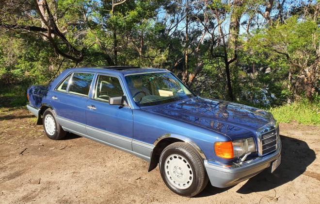 1986 Mercedes 560 SEL Blue sedan Australian delivered images (1).jpg
