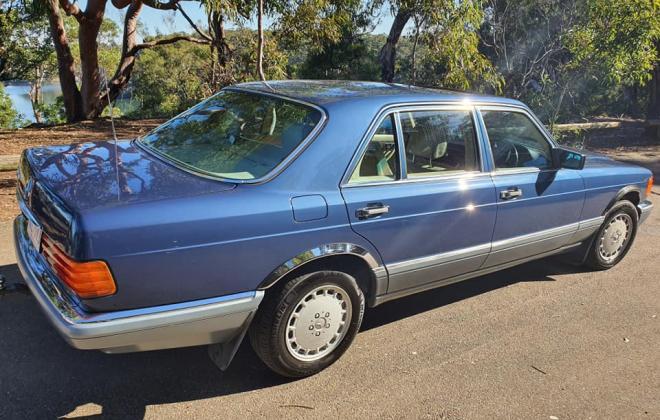 1986 Mercedes 560 SEL Blue sedan Australian delivered images (11).jpg