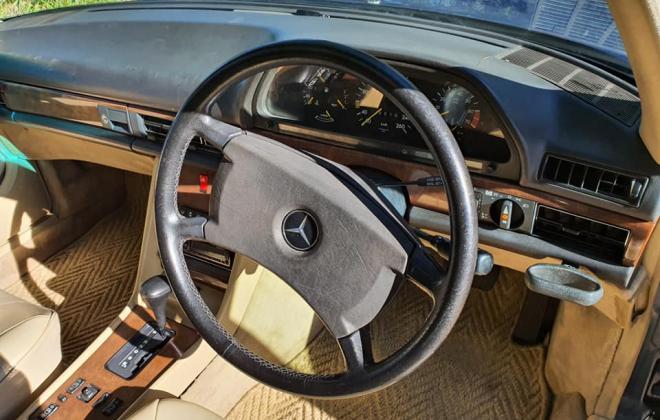 1986 Mercedes 560 SEL Blue sedan Australian delivered images (19).jpg