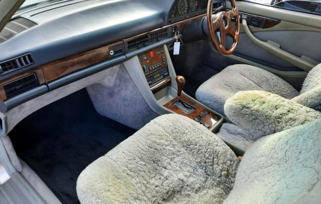 1986 Smoke Silver Mercedes 560SEC with Lorinser body kit C126 images (13).jpg
