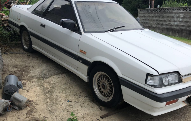 1988 Nissan Skyline GTS-X coupe turbo white images Japan 2018 (1).png