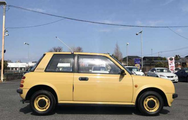 1988 Yellow Nissan BE-1 in Japan images 2021 (4).jpg