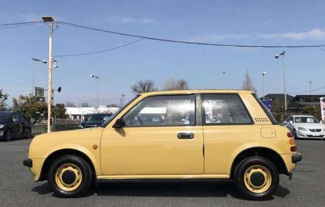 1988 Yellow Nissan BE-1 in Japan images 2021 (5).jpg