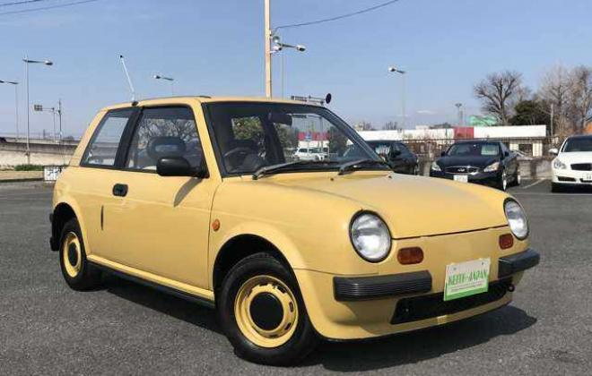 1988 Yellow Nissan BE-1 in Japan images 2021 (6).jpg