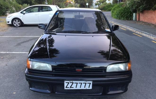 1990 Mazda GT-X Familia Turbo hatch black paint images (12).jpg