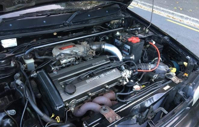 1990 Mazda GT-X Familia Turbo hatch black paint images (13).jpg