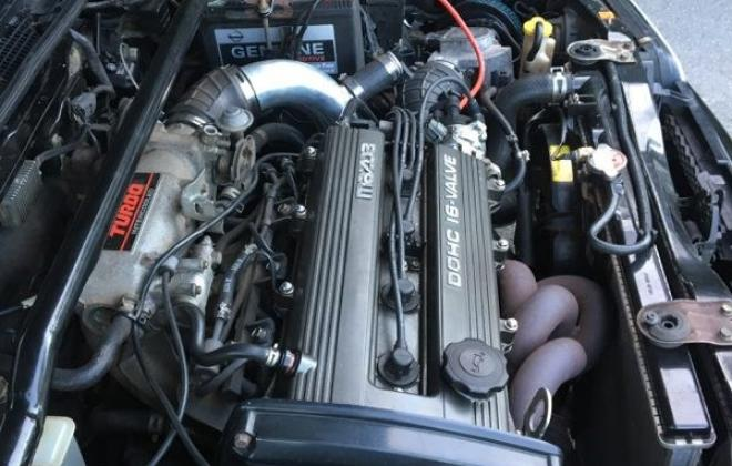 1990 Mazda GT-X Familia Turbo hatch black paint images (15).jpg
